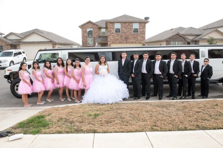Ivory's Quinceanera in San Antonio