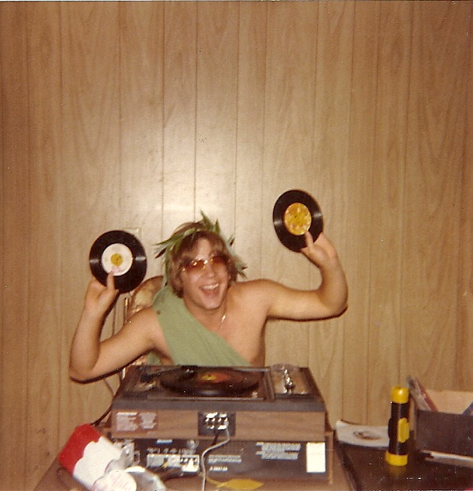DJ at my party- how could you not love this guy?