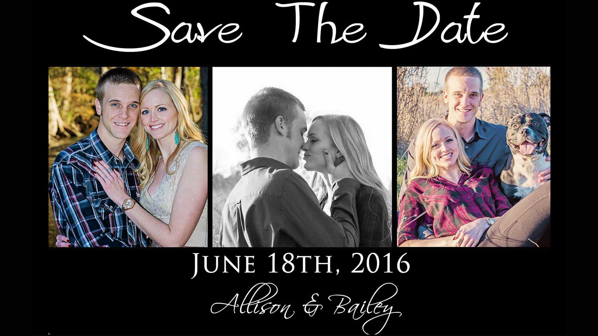 Allison Save the Date Cards