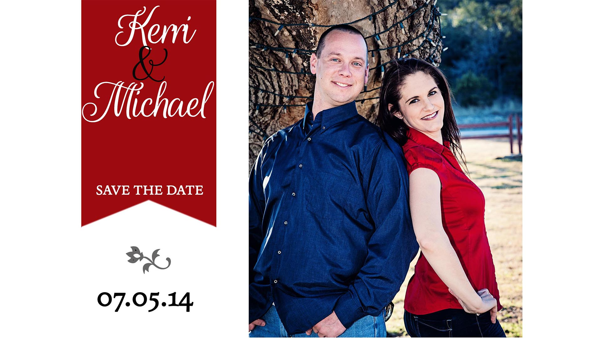 San Antonio Wedding Photographer Save the Date