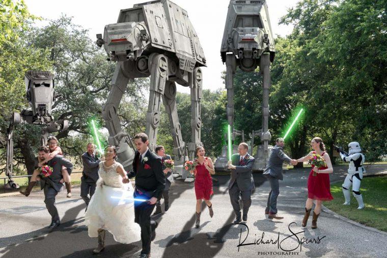 Epic Star Wars Wedding