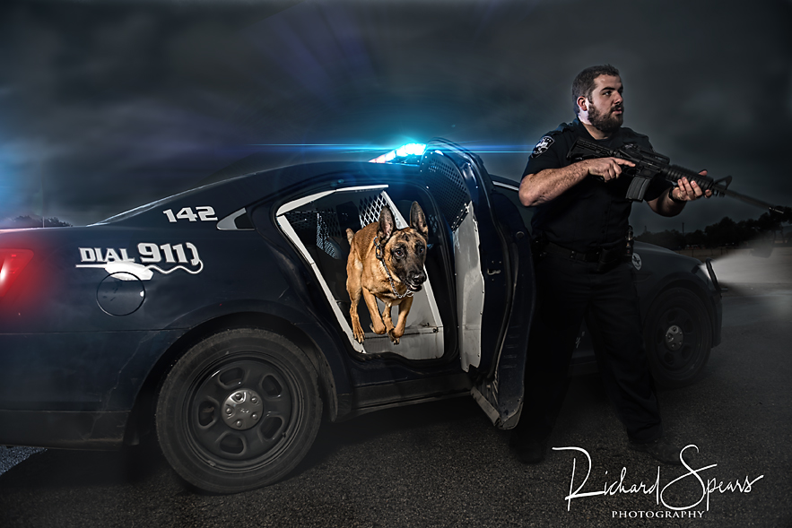 K9 Chak in the Photoshop Edit
