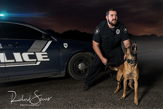 K9 Chak and his handler Josh