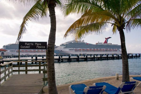 Carnival Valor in Port